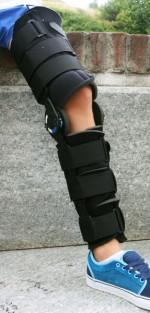 Orthese des gesamten Beins